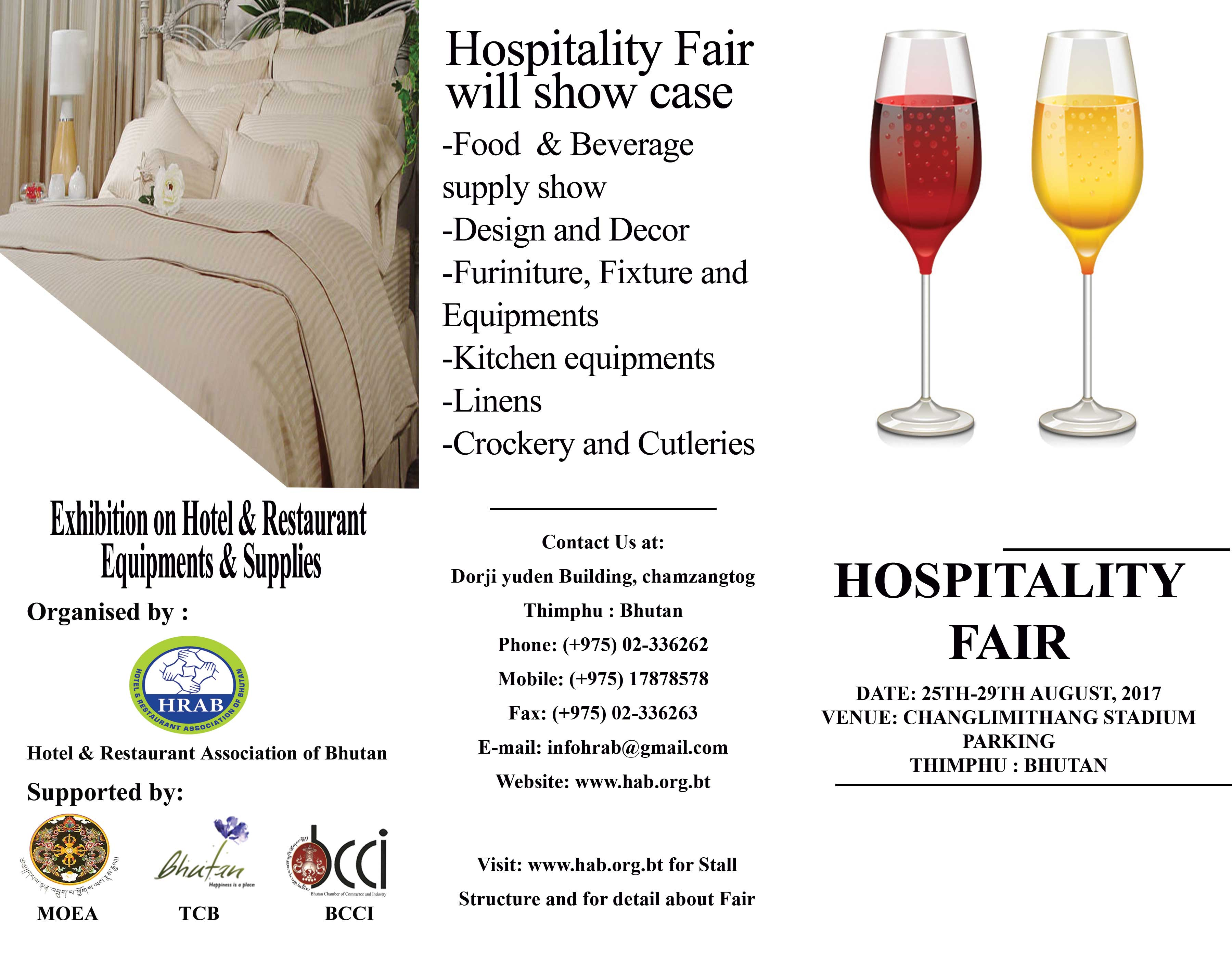 InterMarket is Participating a Hospitality Fair in Bhutan